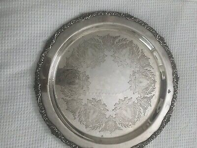 Strachan Silver Plated Tray