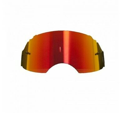 Oakley Airbrake Red Fire Mirror Motocross Replacement Lens Fast & Free UK Post