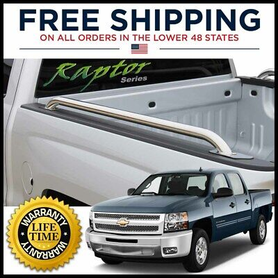 Stainless Steel Topline For 1983-1990 Chevy//GMC C10 C//K 6.5 Ft Truck Bed Rails