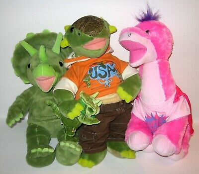 BABW Build A Bear Workshop DINOSAUR Lot