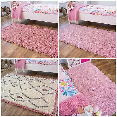 Girls Pink Rugs   Blush Shaggy Rugs   Cheap Rugs For Girls Bedroom   Warm Mats