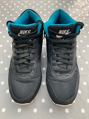 NIKE AIR MAX 1 Mens High Tops Trainers Boots Size UK 9. 685192-002