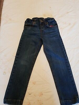 Girls Joules Blue Jeans Size 6 Yrs 100% Cotton