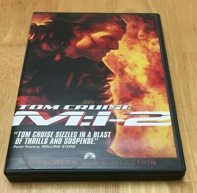 Mission Impossible 2 M:I-2 DVD Widescreen Tom Cruise Thandie Newton Ving Rhames