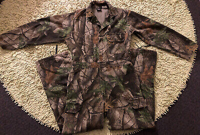 MD 38-40 Redhead Realtree Camouflage Coveralls One-Piece Real Tree Hardwoods