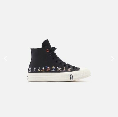 KITH X DISNEY X CONVERSE MICKEY CHUCK TAYLOR 1970 LEATHER - BLACK Sz 8