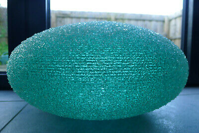 Mid century retro 1960's spaghetti lucite turquoise light shade Space age