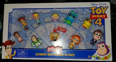 Toy Story 4 Movie Minis Ultimate Friends 10 Figure Pack New Sealed - Collectable