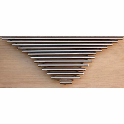 """GlideRite 17/"""" CC 20/"""" Solid Steel Cabinet Bar Pull Stainless Steel 5020-432-SS-1"""