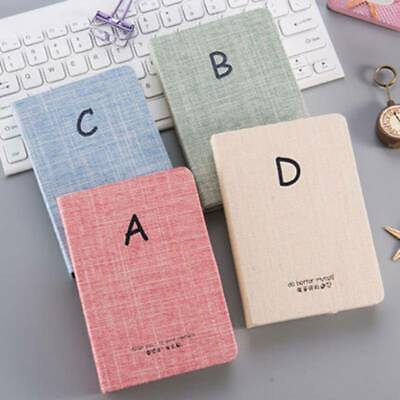 Simple Thicken Hardcover Korean Cute Notebook Drawing Diary Book Blank Journal