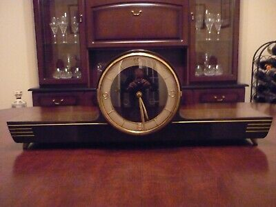 Genuine Antique German Mauthe Clock - (Pre owned - Full Working Order)