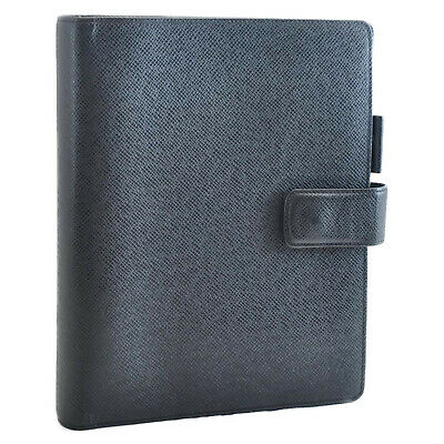 LOUIS VUITTON Taiga Leather Agenda GM Day Planner Cover R20232 LV Auth 10349