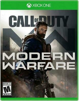 Call of Duty: Modern Warfare (Microsoft Xbox One, 2019) Brand New Factory Sealed