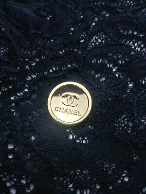 Chanel Gold Buttons Replacement Sewing Accessories 15mm
