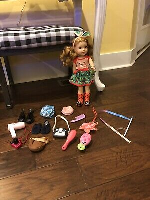 American Girl Wellie Wishers Willa And Accessories