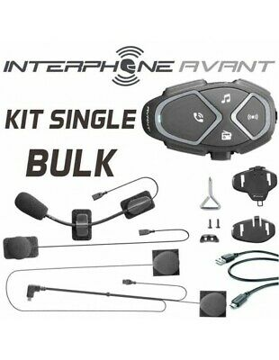 XIT Interphone AVANT kit singolo completo in versione BULK