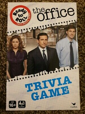 NEW THE OFFICE TRIVIA GAME CardGame