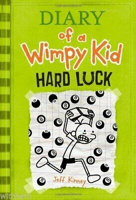 Diary of a Wimpy Kid: Hard Luck by Jeff Kinney Book The Cheap Fast Free Post