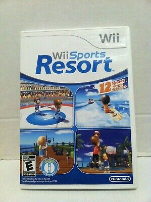 Wii Sports Resort (Nintendo Wii, 2009) Game, Case & Manual Tested & Working