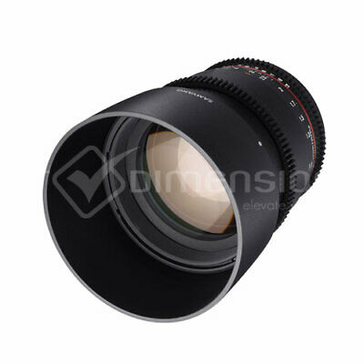 Samyang 85mm T1.5 Mark II AS IF UMC VDSLR for Nikon F gft Ship from EU migliore