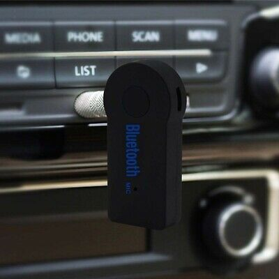 Adapter Stereo MP3 3.5mm AUX Audio Plug Wireless Transmitter Bluetooth t