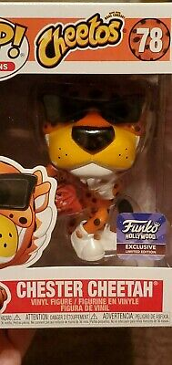 Cheetos Chester Cheetah Pop Ad Icon Funko Hollywood Exclusive Limited Edition!