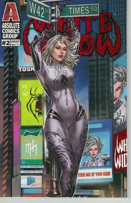 White Widow #2 Times Square Suit 48 page comic by Mike Krome
