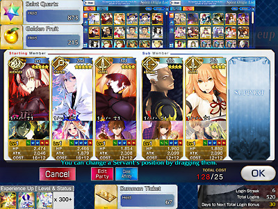 NA FGO / Fate Grand Order Starter Account Merlin + Jeanne d'Arc Alter + 873 SQ