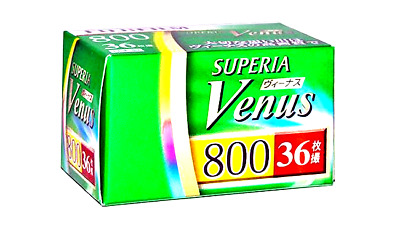 1 x FUJI SUPERIA VENUS 800 COLOR NEG--35mm/36 exps--expiry: 02/2021--LAST BATCH!