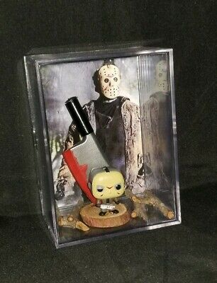 "FRIDAY THE 13TH""JASON VOORHEES (Inspired)Figure DISPLAY/YOU GET WHAT YOU SEE..."