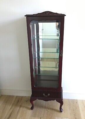 Queen Anne Style Display Cabinet