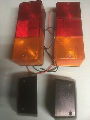 Britax 867 Rear Number Plate Lights Plus Stop Tail Indicator Assemblies