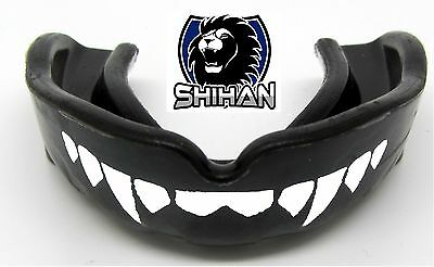 BodyRip Gum Shield Mouth Guard Black Teeth Grinding Boxing Rugby Mouthpiece Gym