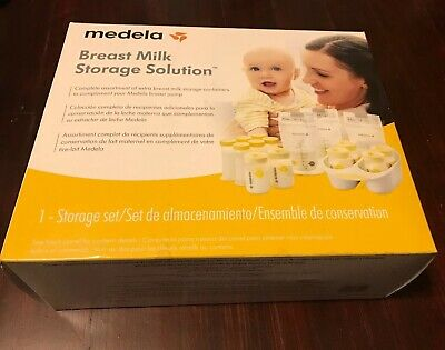 Medela Breastmilk Storage Solution Brand New In Box Complete Assortment Of Bags