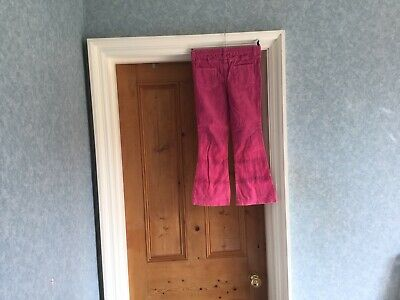 """""""Lovely"""" Next Pink Girls Cord Trousers - Age 7"""