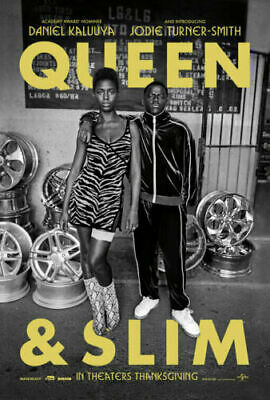 "2019 new Queen & Slim movie poster 13x20"" 24x36"" 27x40"" silk print"