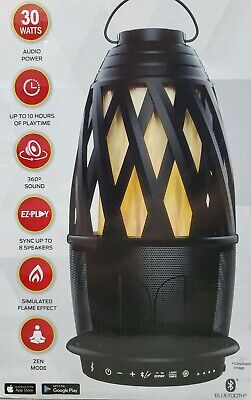 Monster Flame Bluetooth Speaker 30 Watts Portable 360 Degree Sound 10 Hrs Play
