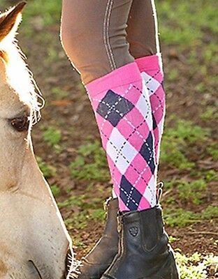 Ladies Girls Equine Socks Horse Riding Socks Equestrian Socks Thermal Knee High