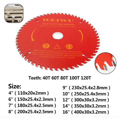 Carbide Tip Tooth Circular Saw Blade Wood Cutting Disc for Woodworking Cutter