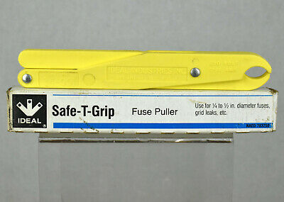 Ideal Safe-T-Grip Fuse Puller 34-001 Midget Size MADE IN USA
