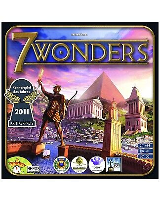 Asmodee Editions Seven 7 Wonders Board Game [Repos production]