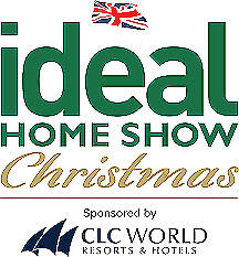 2x IDEAL HOME SHOW CHRISTMAS TICKETS THUR 21ST NOV LONDON ( 2 x CHILDS INCLUDED)