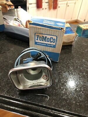 NOS OEM Ford 1962 1963 Falcon Park Light Lamp Housing Bucket