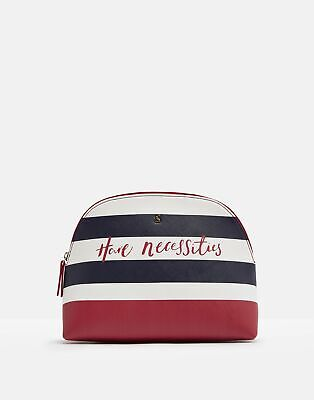 Joules Womens Onboard Large Travel Bag in NAVY TRAVEL TEXT in One Size
