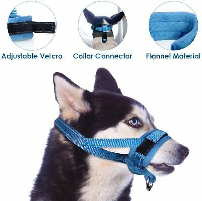 Different Colors,Nylon Dog Adjustable Muzzle,Anti Bite and Barking, Mouth Mask