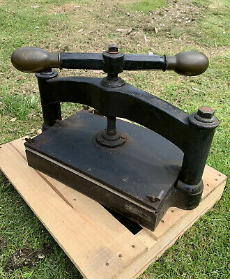 Antique Bookpress Book Press Bookbinders Creative Junk Journal