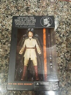 "Star Wars Obi Wan Kenobi #10 Black Series 6"" Figure Sealed Orange Line Box 2015"