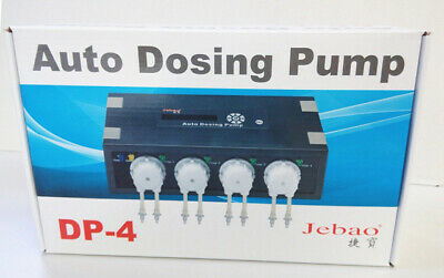 Jebao Dp-4 Programmable Auto Dosing Pump, 4 Channel