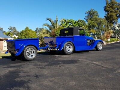 1928 Ford Model A Roadster V8 Custom Hot Rod Pickup Truck Firepower Classics