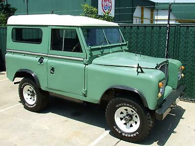 1973 Land Rover Short Wheel Base Series 3 Collector 4Wd Firepower Classics